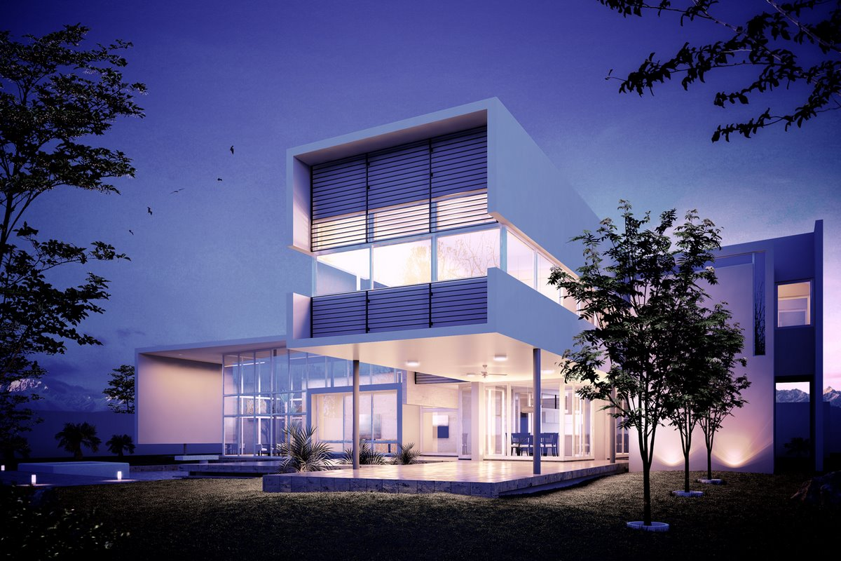 Tutorial Making Of 3d Uro House Render 3d Architectural Visualization Rendering Blog Ronen