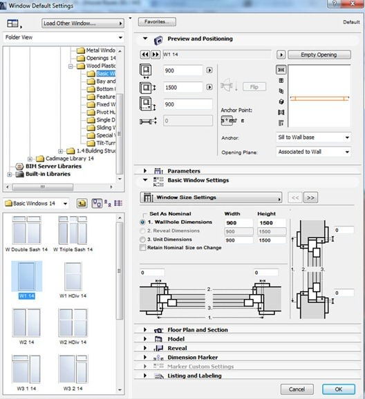 making-of-house-Archicad-Window-Tool