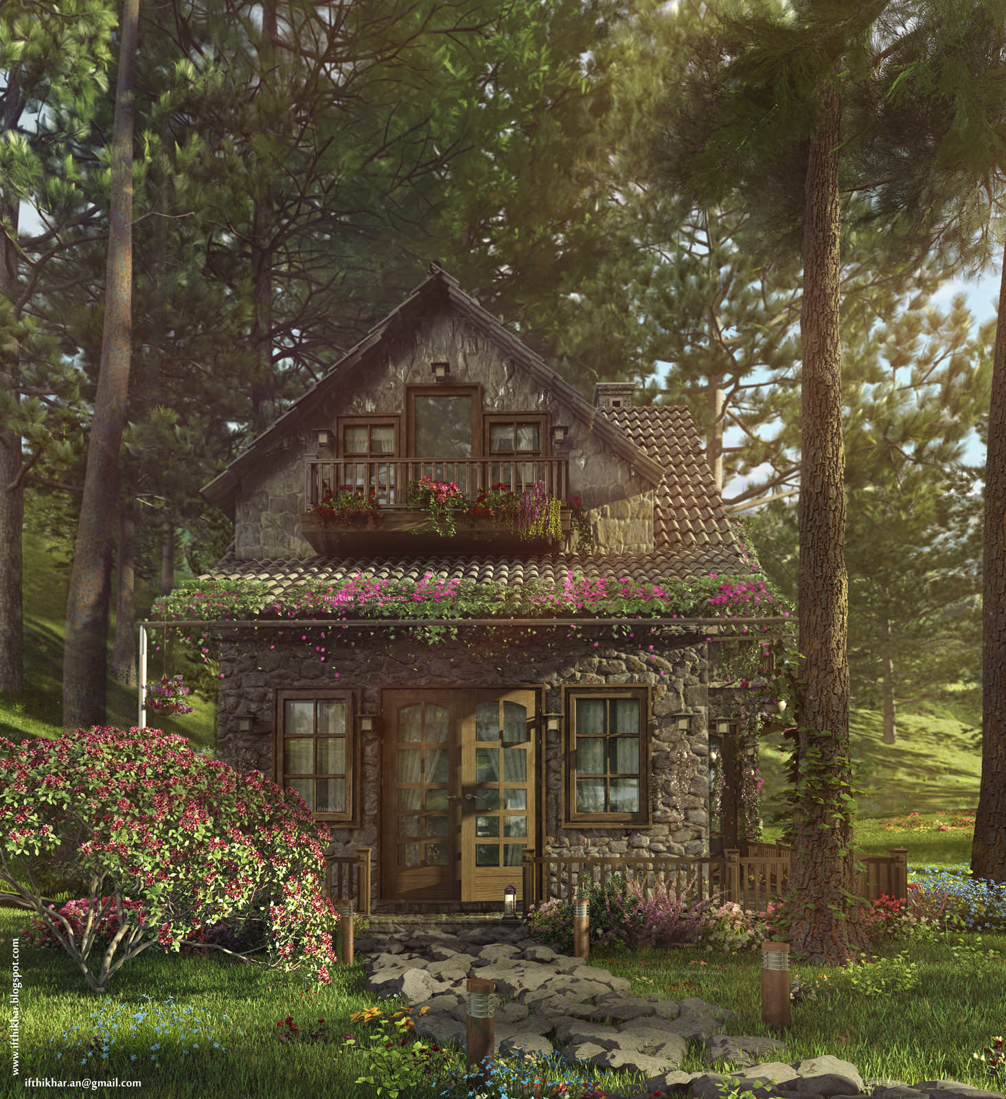 Firefly Cottage By Ifthikhar An 3d Architectural