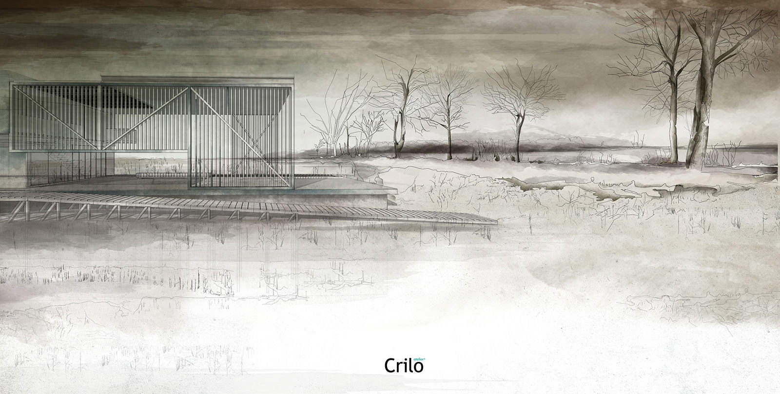 Architectural Watercolors by Atelier Crilo - 3D