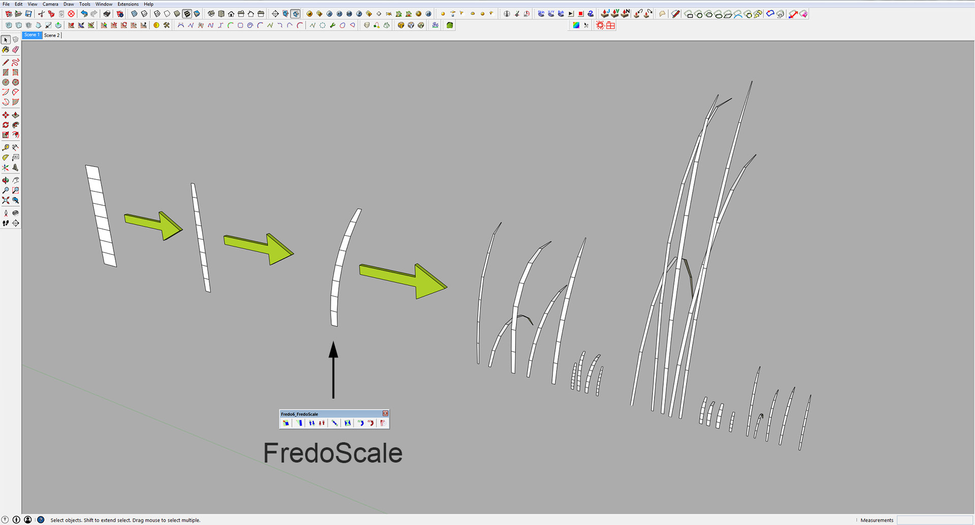 Making of The Meadow with SketchUp & Skatter - 3D Architectural