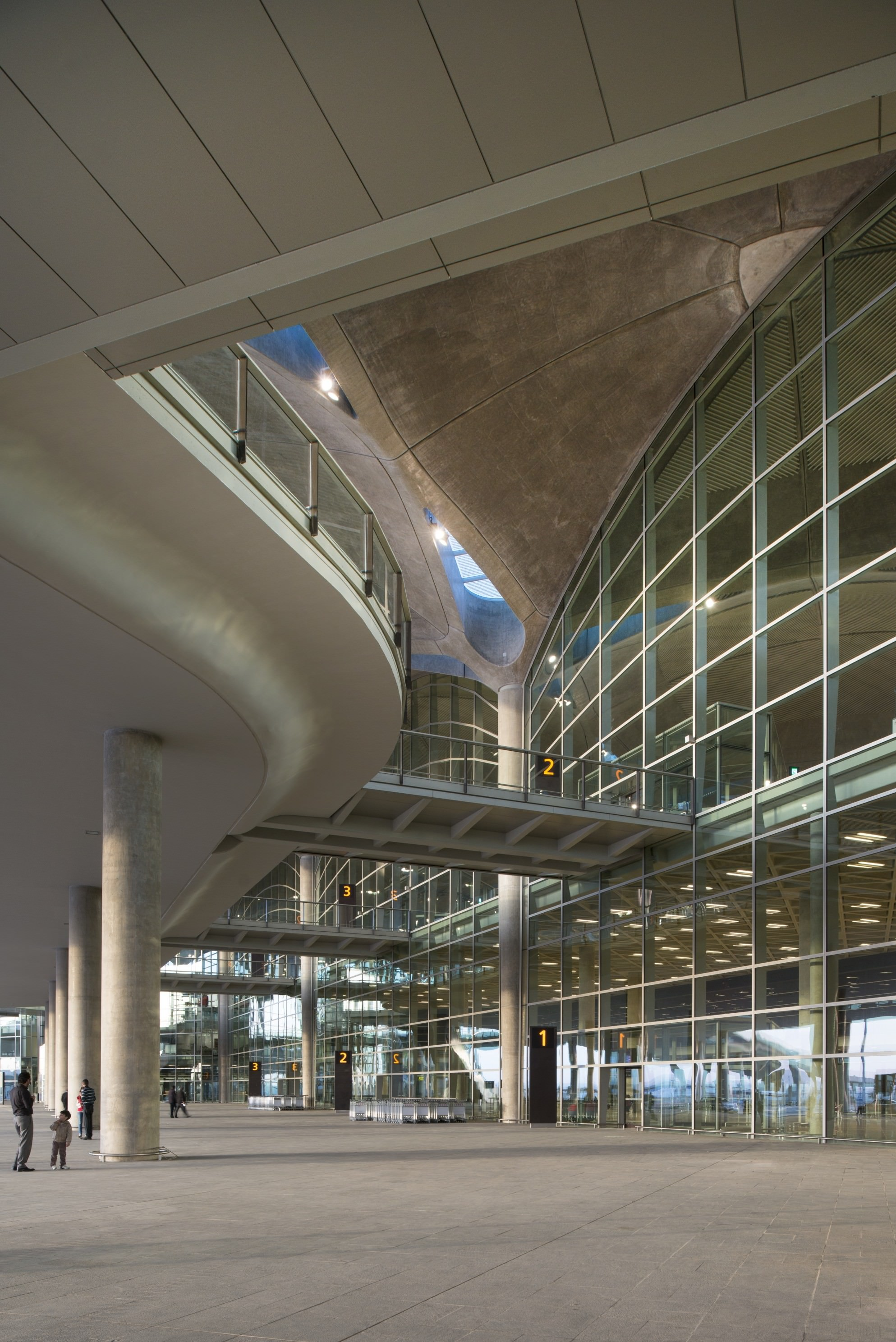 Making Of Queen Alia Airport 3d Architectural