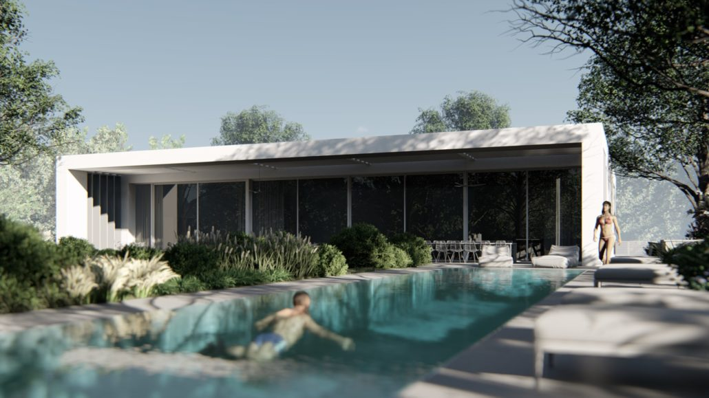 Converting to Lumion - The MMF House Architectural Visualization
